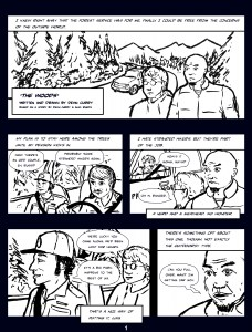 The Woods Comic Page 1