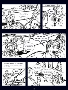The Woods Comic Page 2